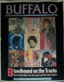 buffalo news magazine Bob Dylan cover story