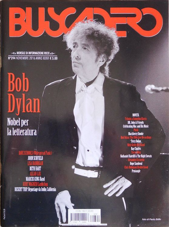 Buscadero magazine 394 Bob Dylan cover story