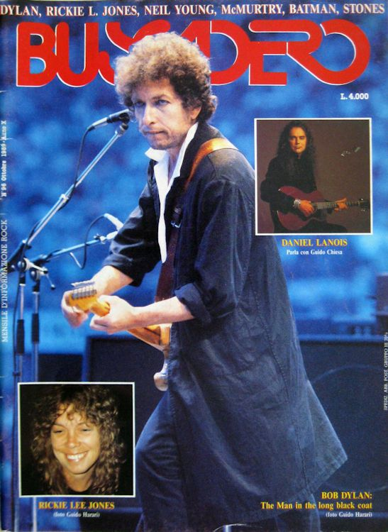 Buscadero magazine 96 Bob Dylan cover story