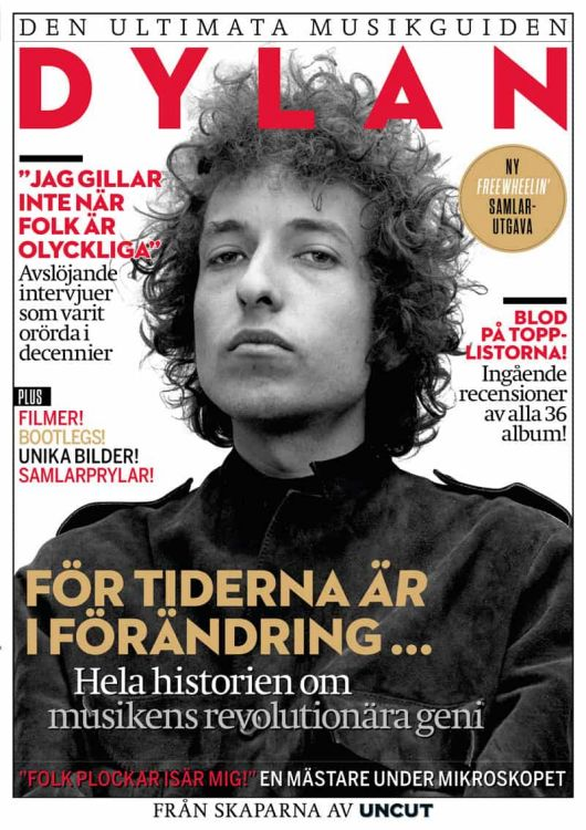 ultimate musikguiden magazine Bob Dylan cover story