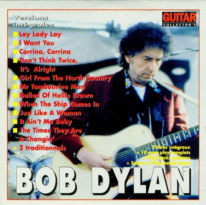 guitar collector's magazine Bob Dylan cover story