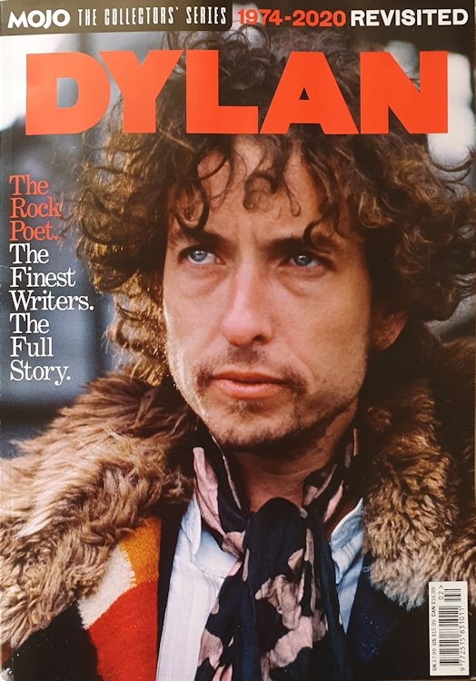 Mojo magazine Bob Dylan 1974-2020 cover story collector's series vol 1