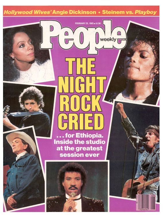 people weekly 1985 02 magazine Bob Dylan cover story