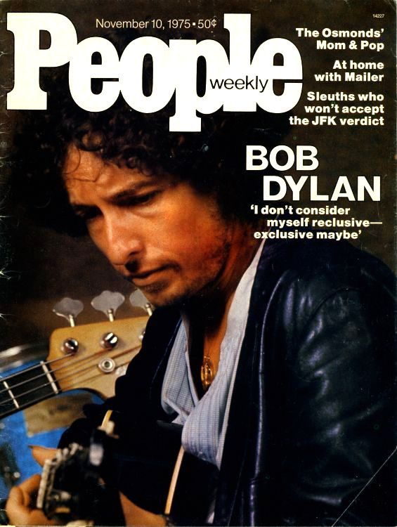 people weekly 1975 bob dylan cover story