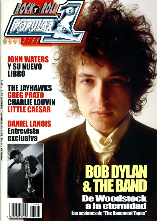 popular 1 spain 2011 magazine Bob Dylan cover story