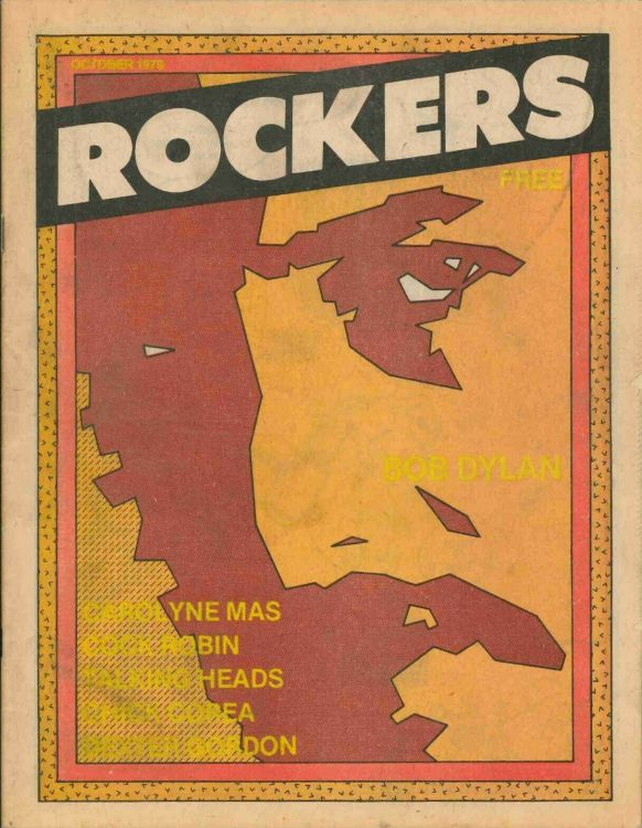 rockers Bob Dylan cover story
