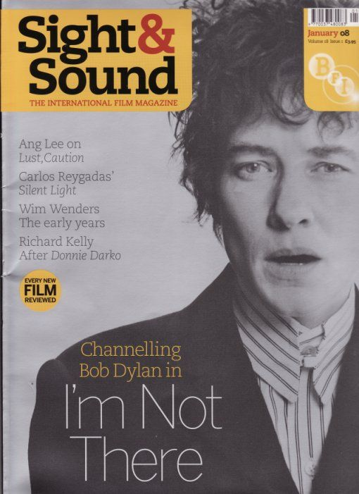 sight & sound uk magazine Bob Dylan cover story