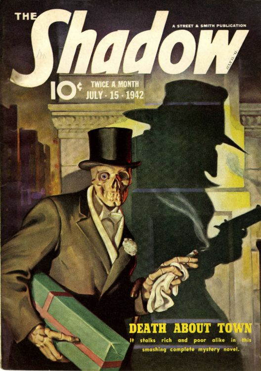 the shadow magazine Bob Dylan related