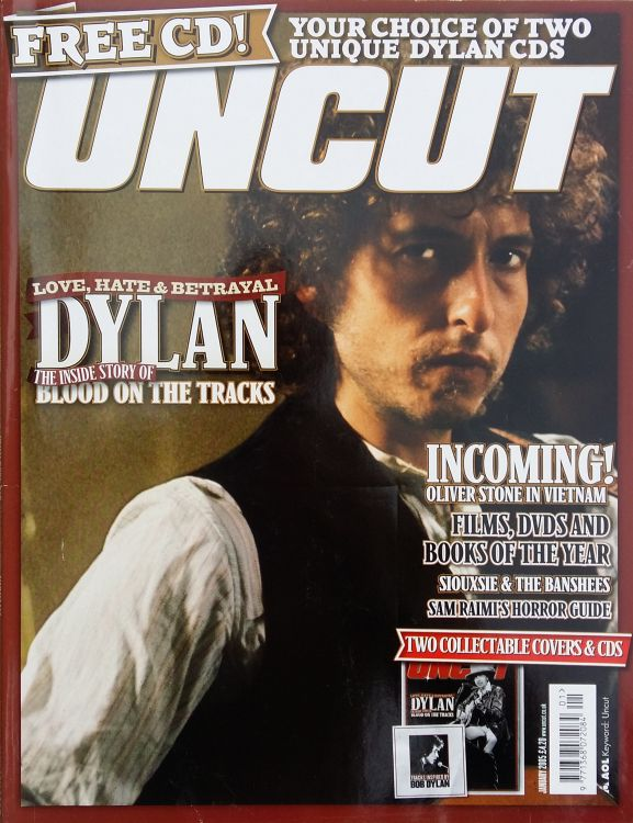 uncut magazine January 2005 #1 Bob Dylan cover story