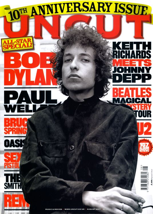 uncut magazine Bob Dylan cover story