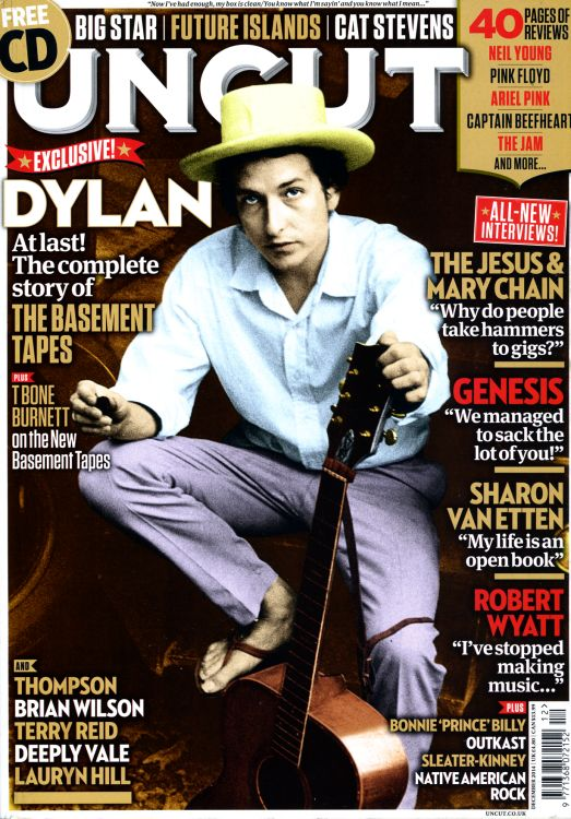 uncut magazine December 2014 Bob Dylan cover story