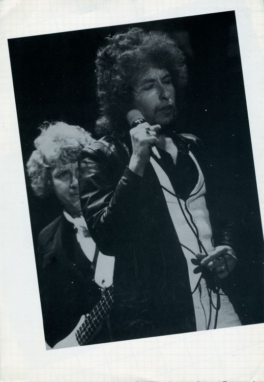 bob dylan 1978 Feijenoord Stadion, Rotterdam introduction