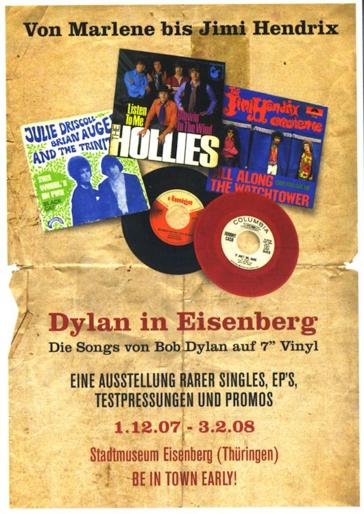 DYLAN IN EISENBERG, 2007-2008 exhibition