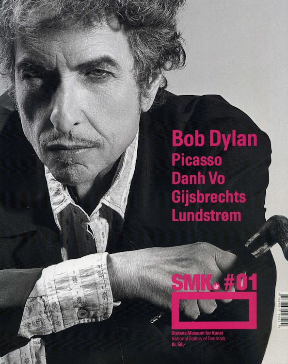 SMK Magazine #01, in connection with THE BRAZIL SERIES bob dylan exhibition