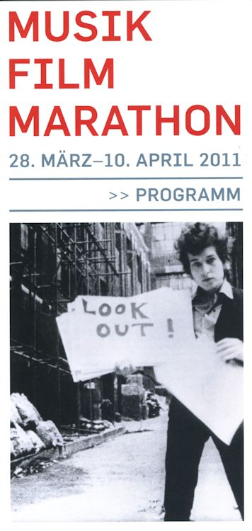 MUSIK FILM MARATHON, Berlin, March-April 2011 programme