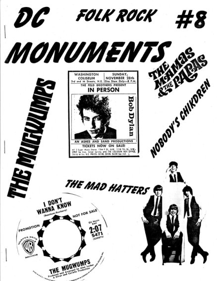 dc monuments magazine Bob Dylan cover story