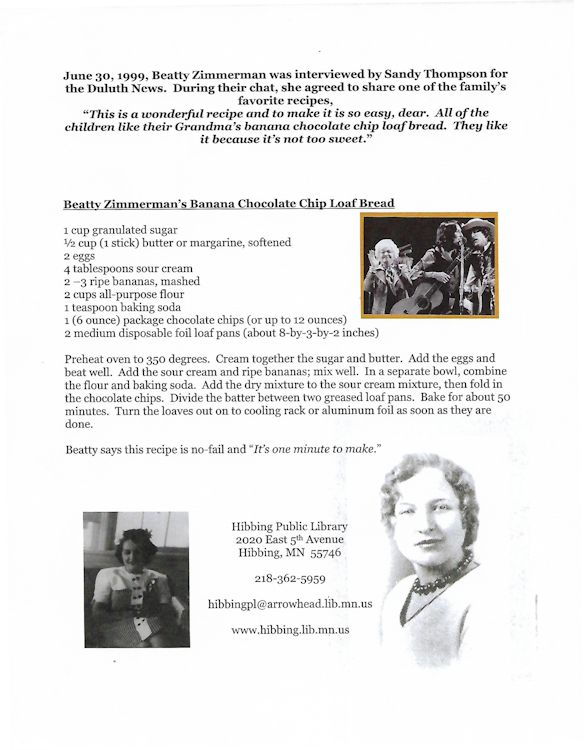 Betty Zimmerman cake recipe