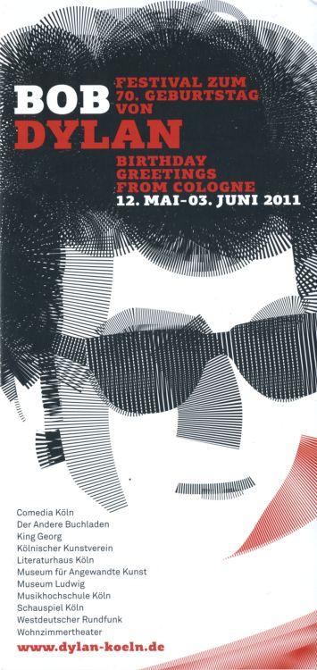 Bob Dylan 70th Birthday in Germany