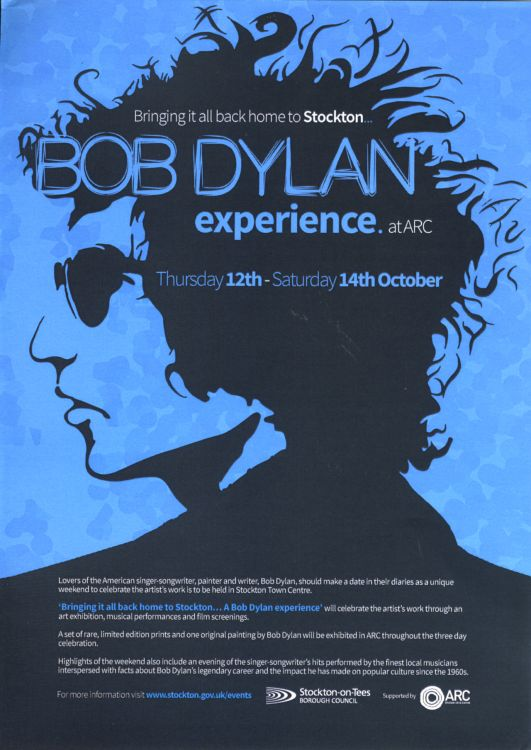 BOB DYLAN EXPERIENCE AT ARC (UK 2017)