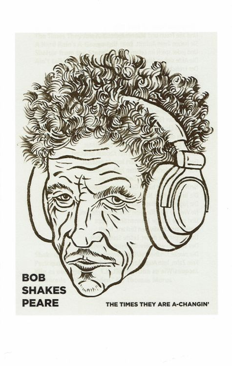 Bob Dylan theater bob-shakespeare 1