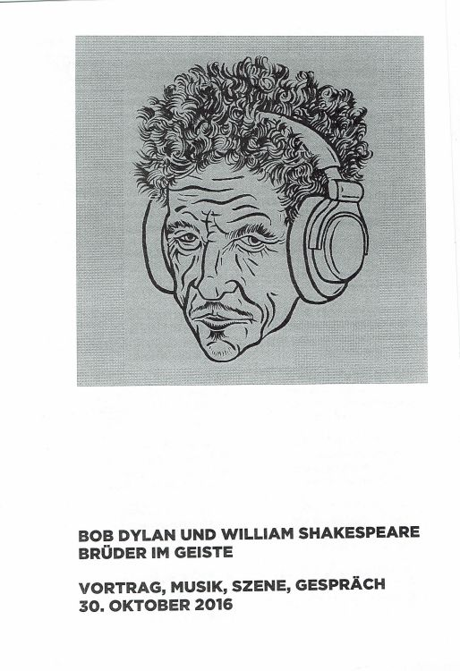 Bob Dylan theater bob-shakespeare 2
