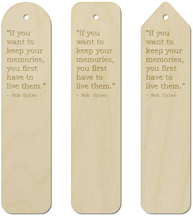 bob dylan  quote 5 bookmark