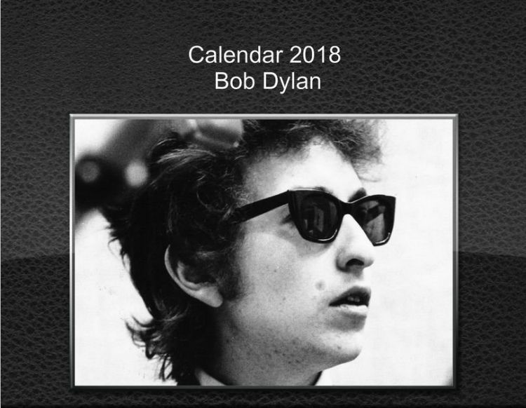 bob dylan 2018 calendars of the most beloved characters created by Ale Bigio