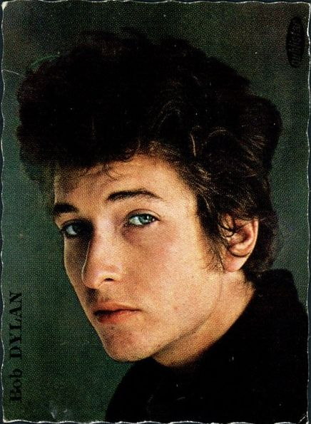 bob dylan 1964 l'age d'or des idoles trading card