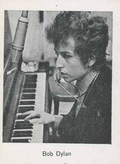bob dylan monty gum beat groups 1 trading card