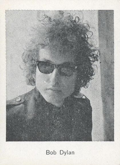 bob dylan monty gum beat groups 2 trading card