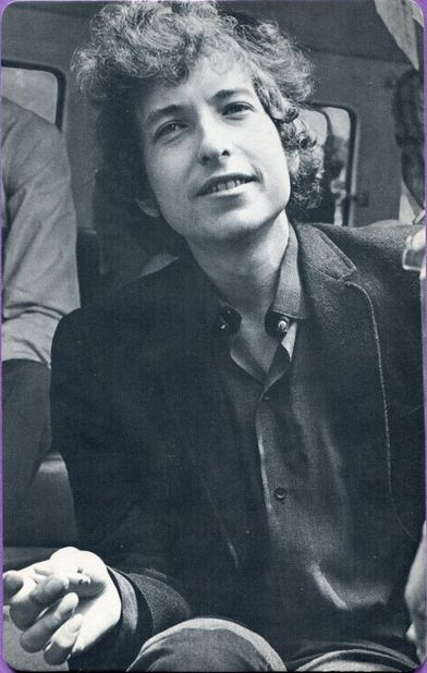 bob dylan 1967 personality poster trading card
