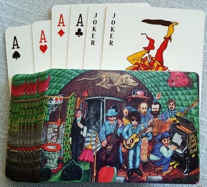 playing cards Bob Dylan jan marius verburg