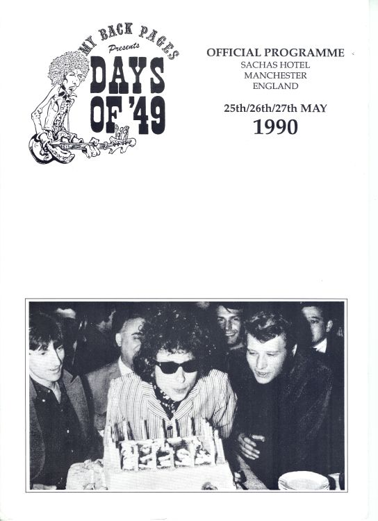 bob dylan convention  days of 49
