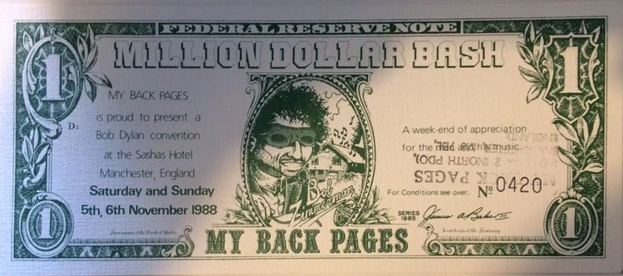 million dollar bash banknote