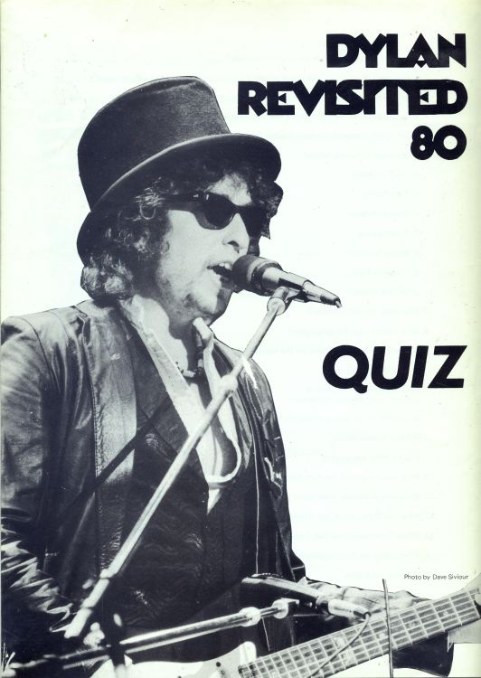 bob dylan convention dylan revisited 1980