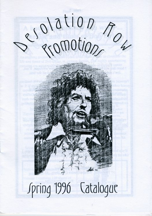 bob dylan desolation row promotions catalogue