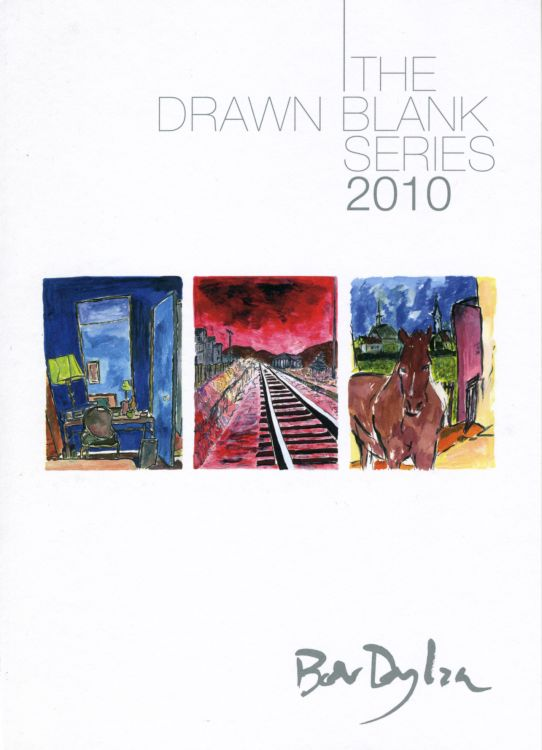 bob dylan the drawn blank series 2010 castle galleries uk invitation