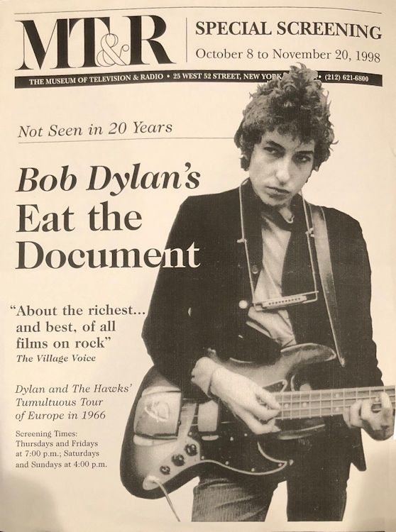 eat the document handbill