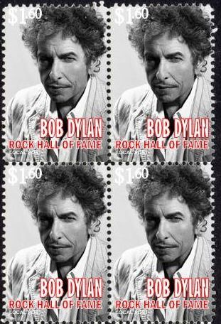 bob dylan hall of fame 2 stamp