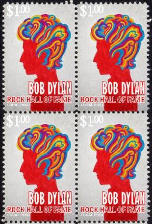 bob dylan hall of fame 3 stamp