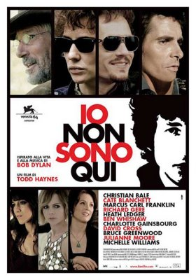 bob dylan i'm not there film italian poster
