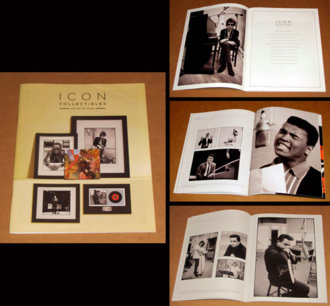 bob dylan icon collectibles sales catalogue