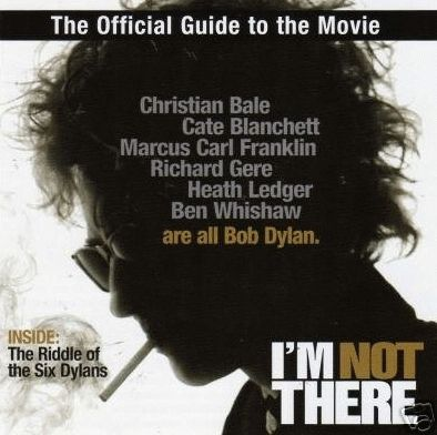 bob dylan i'm not there film Movie Guide booklet