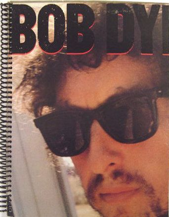 bob dylan infidels original spiral bound note book