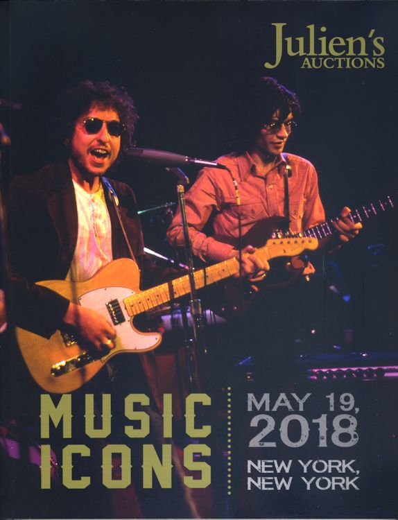 Juliens's Auction 2018 Music Icon Bob Dylan