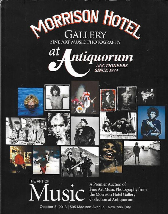 Morrison Hotel Gallery Auction 2013 Bob Dylan