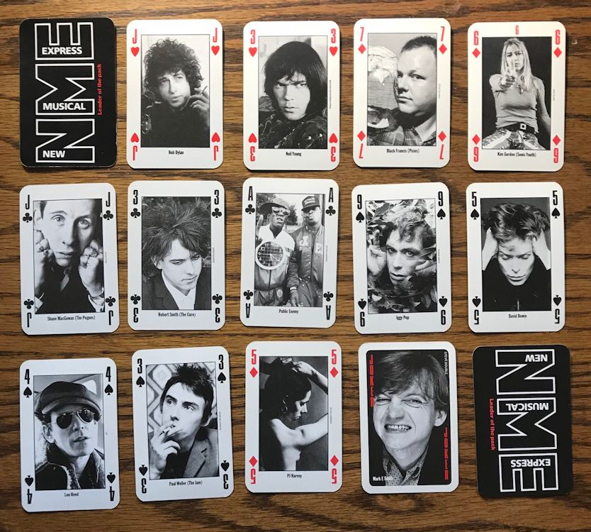 1991 Dylan poker card