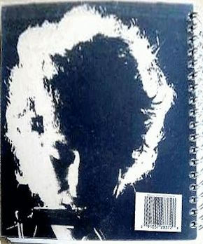 bob dylan greatest hits original back spiral bound note book