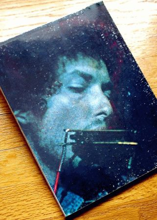 bob dylan greatest hits original II back notebook