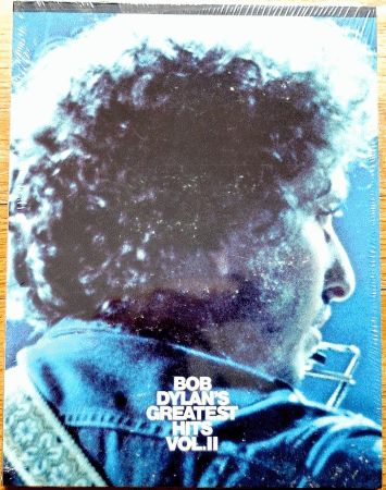 bob dylan greatest hits original II spiral bound note book